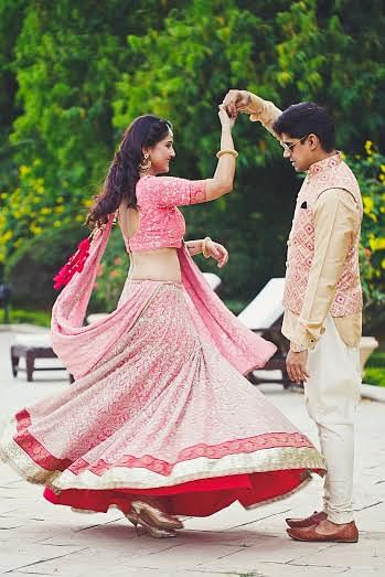 It all starts with a pre-wedding shoot. (Photo Courtesy: Camera Waale Baraati)
