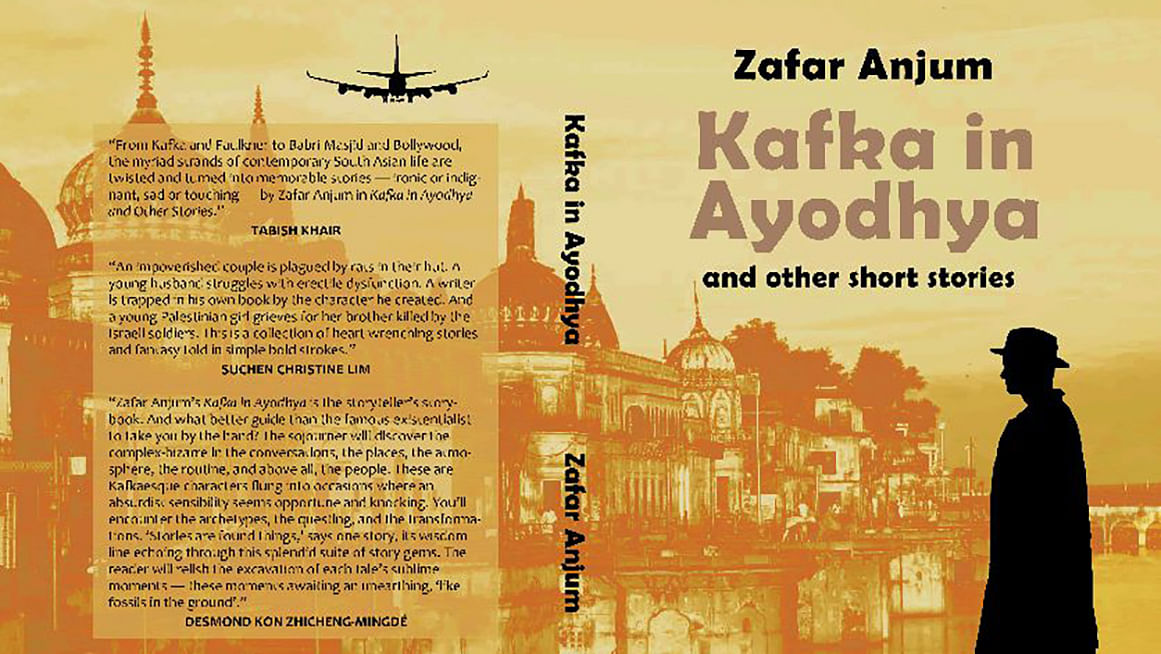 <i>Kafka in Ayodhya</i> is a collection of short stories by Zafar Anjum. (Photo: Facebook/Zafar Anjum)