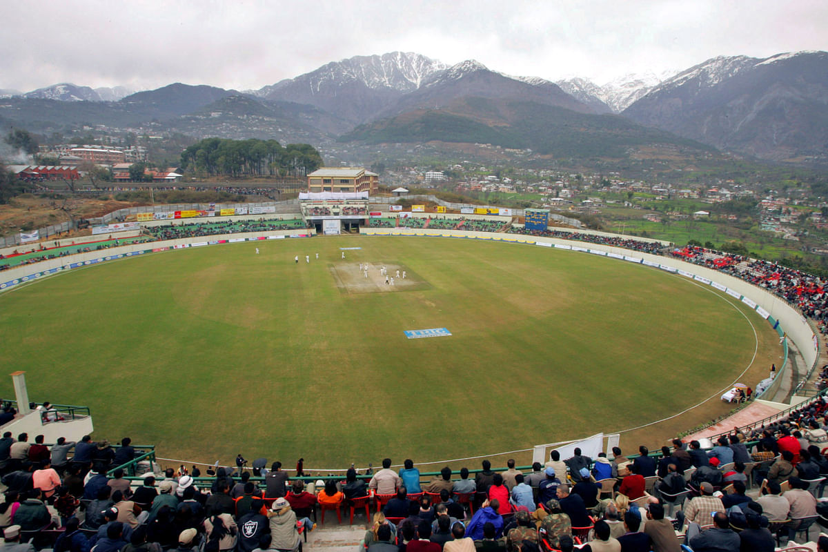 The BCCI have tried to take international matches to smaller destinations like Dharamsala. (Photo: Reuters)
