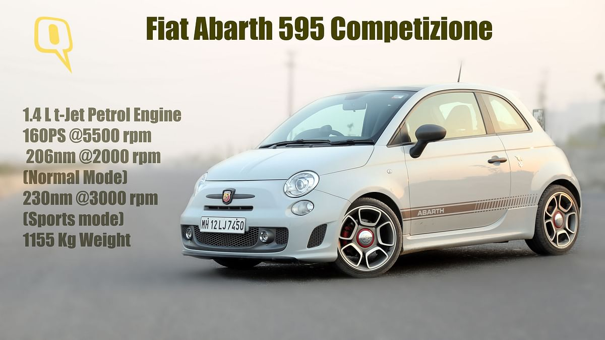 Fiat Abarth 595 Competizione. (Photo: <b>The Quint/Siddharth Safaya</b>)