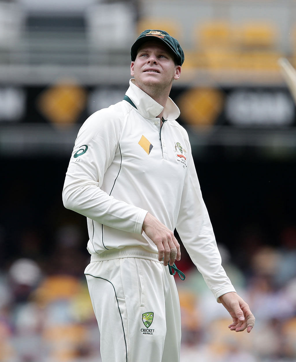 Steve Smith has already implemented one of his tactics for the day and night match. (Photo: AP)