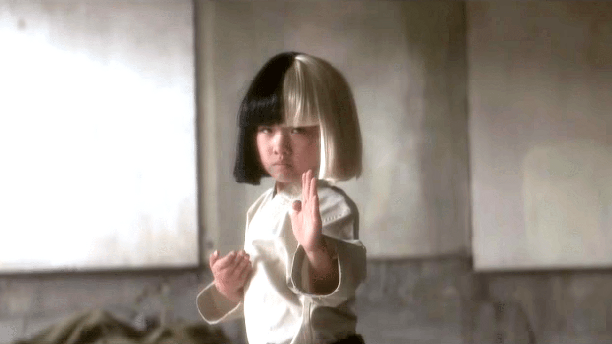 "A still from the music video of Sia's latest video, Alive. (Photo: <a href=""https://www.youtube.com/watch?v=t2NgsJrrAyM"">youtube.com</a>)"