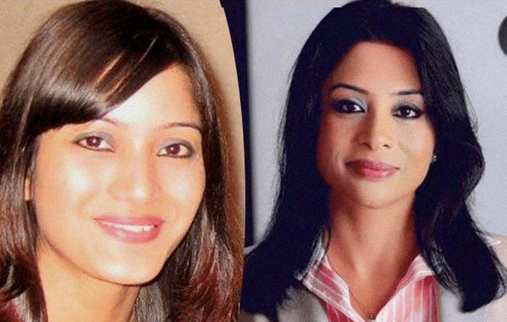 File picture of Sheena Bora (left) and Indrani Mukerjea (right). (Photo: PTI)