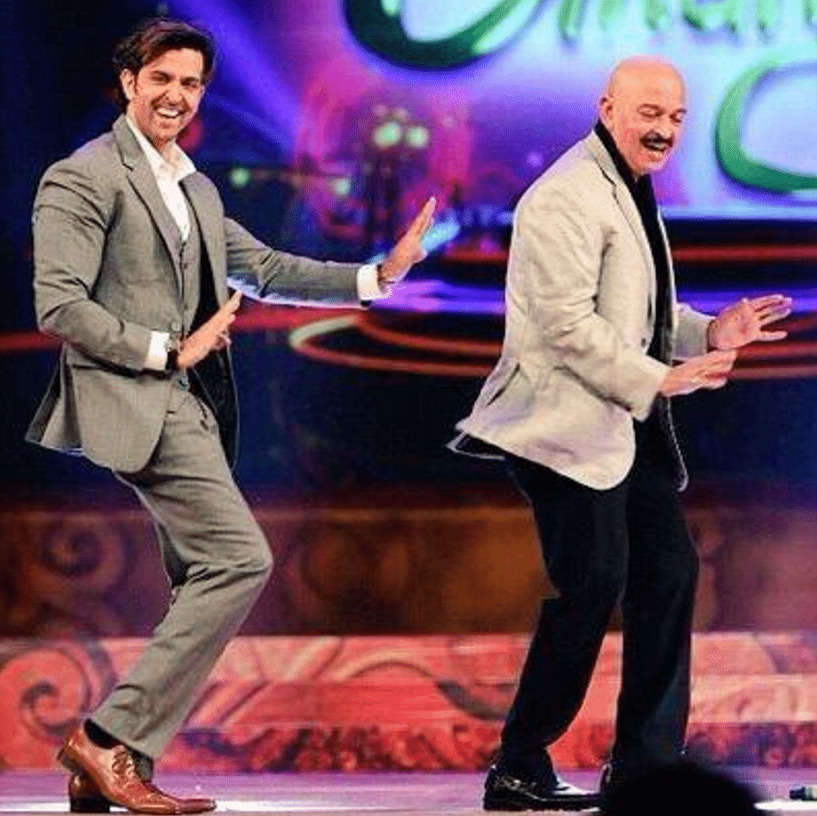 """Rakesh Roshan will be directing son Hrithik in a love story in the near future (Photo: Twitter/<a href=""""https://twitter.com/HrithikRules"""">@HrithikRules</a>)"""