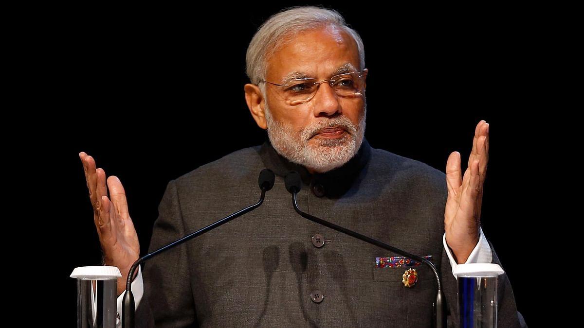 Prime Minister Narendra Modi speaking at the ASEAN summit in Kuala Lumpur. (Photo: AP)
