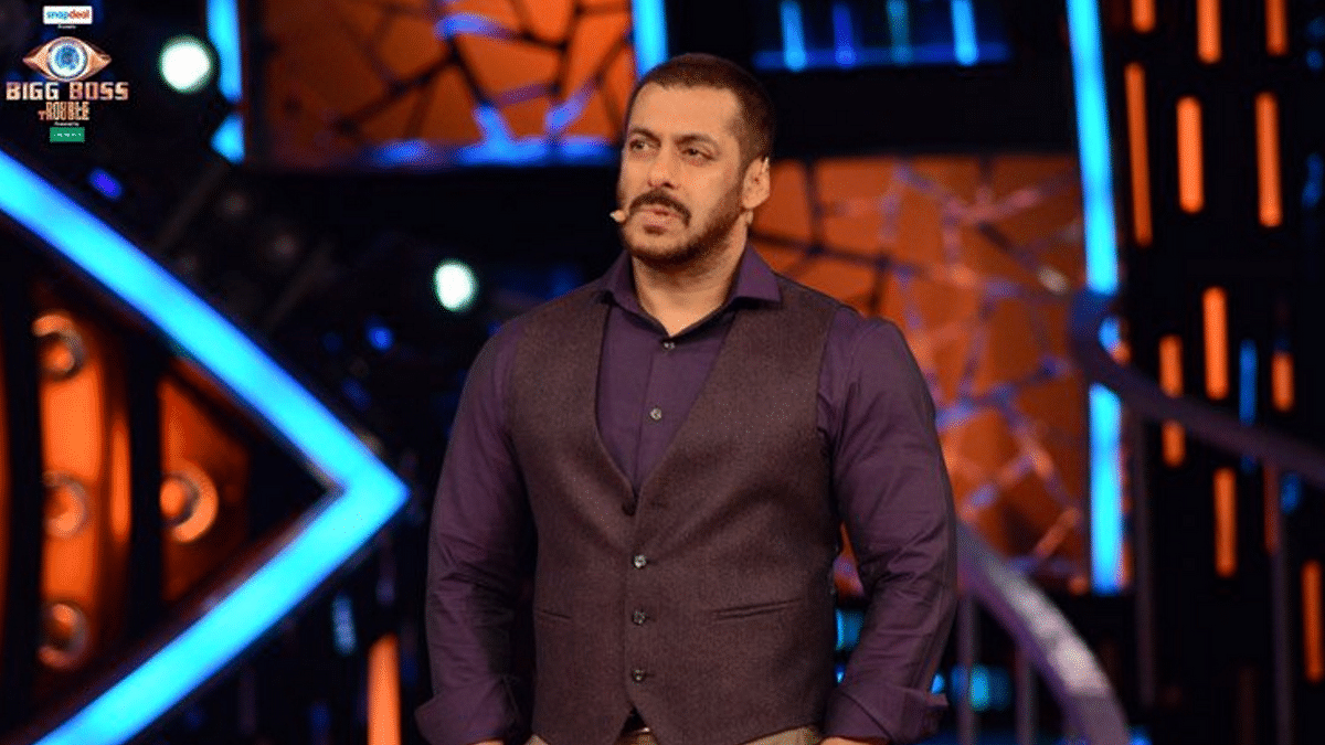 Salman Khan gives Prince a piece of his mind (Photo: Twitter/@BiggBoss)