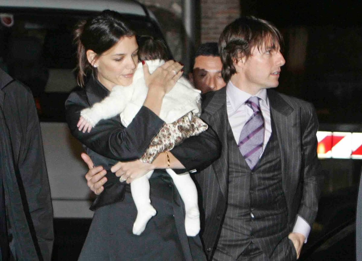 Katie and Tom with their daughter Suri (Photo: Reuters)