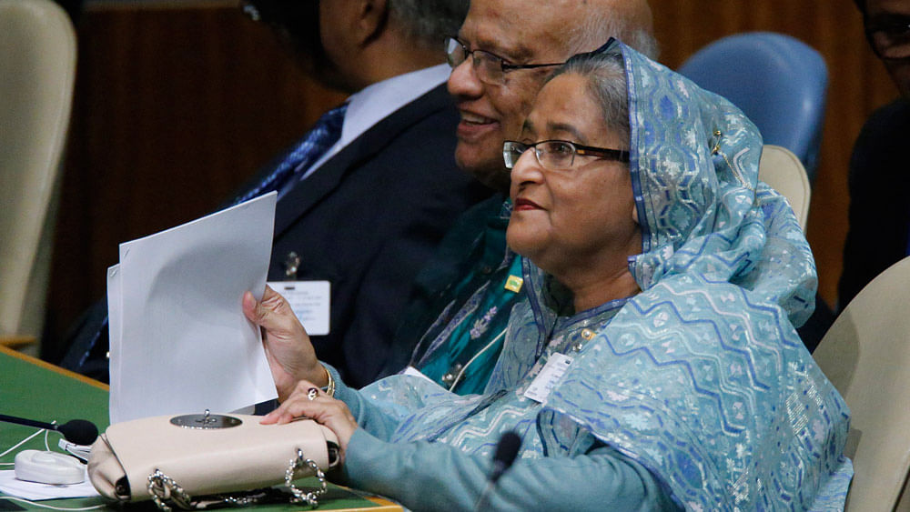 There is no escaping the fact that though Hasina faces a much weaker political opposition which stands embarrassed by these trials, she has a real challenge ahead. (Photo: Reuters)