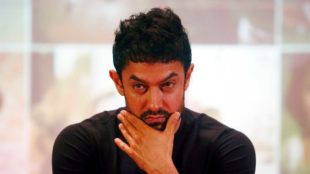 Aamir Khan says he has no intention of leaving the country for good (Photo: Reuters)