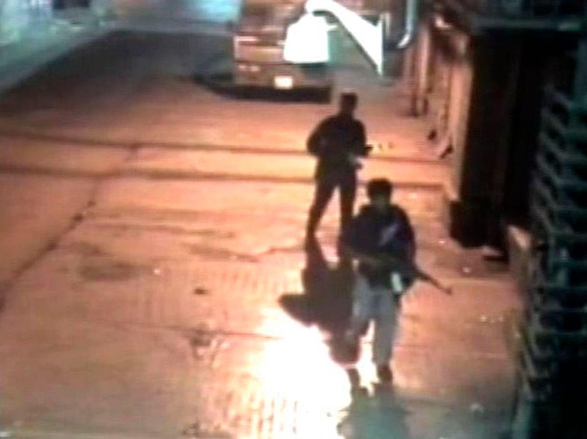 CCTV footage of terrorists leaving CST (Photo: Reuters)