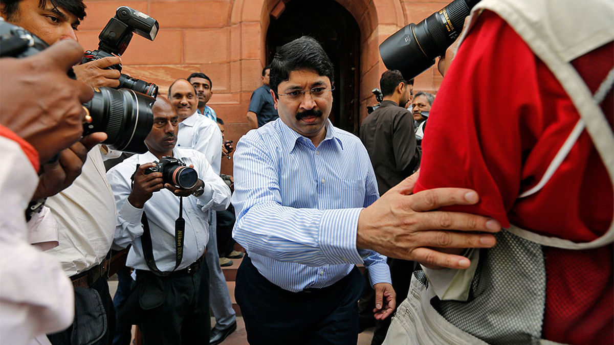 Dayanidhi Maran Grilled for Six Hours in BSNL Exchange Case