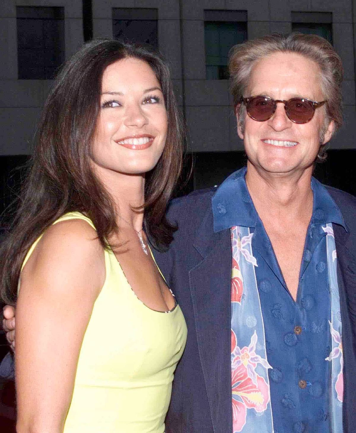 Catherine Zeta-Jones and Michael Douglas in 2000 (Photo: Reuters)