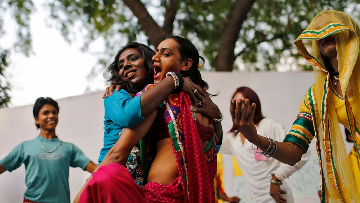 The Union Cabinet approved 'The Transgender Persons (Protection of Rights) Bill 2016' for introduction in Parliament. (Photo: Reuters)