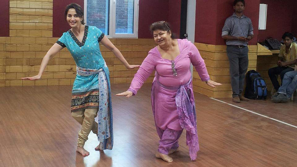 Celebrating B'Day Girl  Saroj Khan, Bollywood's Real Dancing Queen