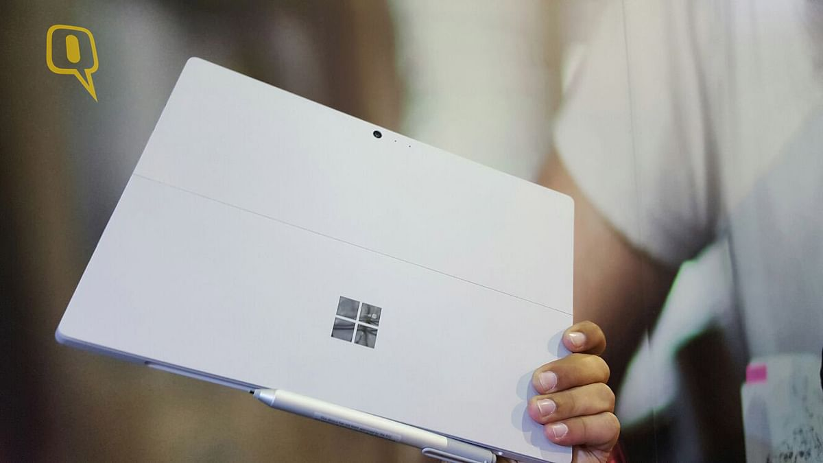 Microsoft Surface Pro 4. (Photo: <b>The Quint</b>)