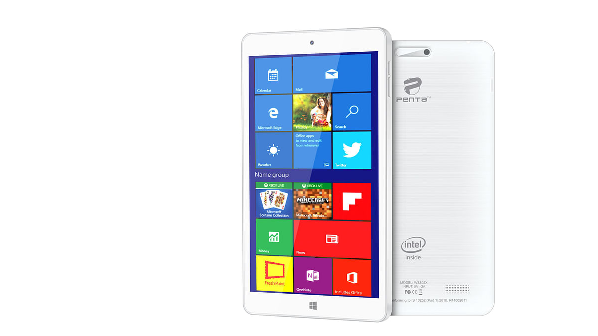 Pantel Windows 10 tablet. (Photo: Pantel)