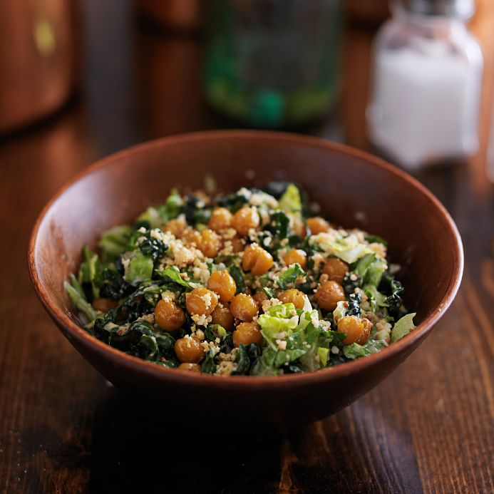 You needn't fret – you could be a vegan and enjoy your staple Caesar salad too.