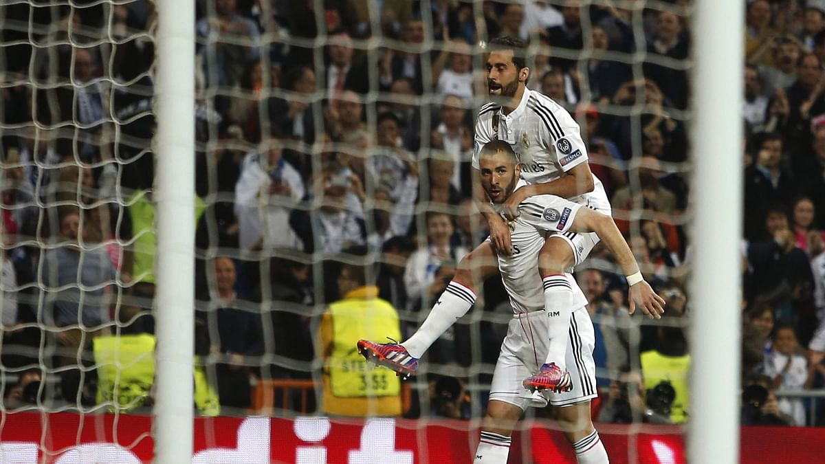 Real Madrid's Karim Benzema has been out of action with an injury and also due to a sex tape controversy that led him to be briefly detained in France. (Photo: AP)