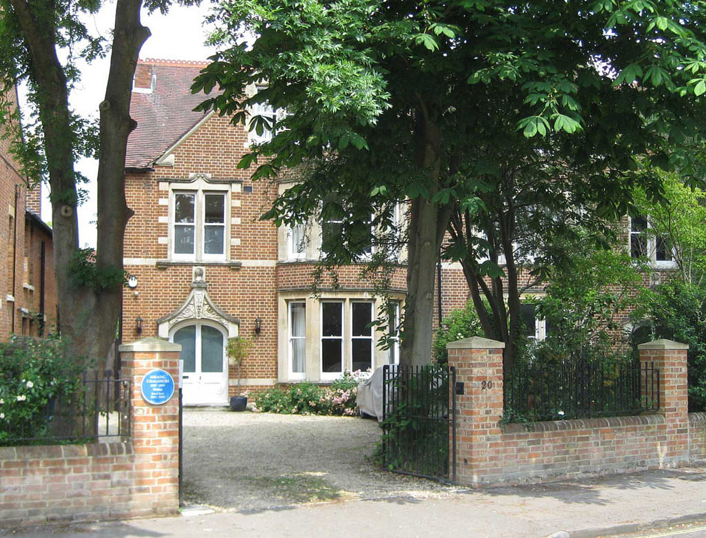 20 Lathbury Road, the former home of Nirad Chaudhuri in Oxford, England where he passed away.