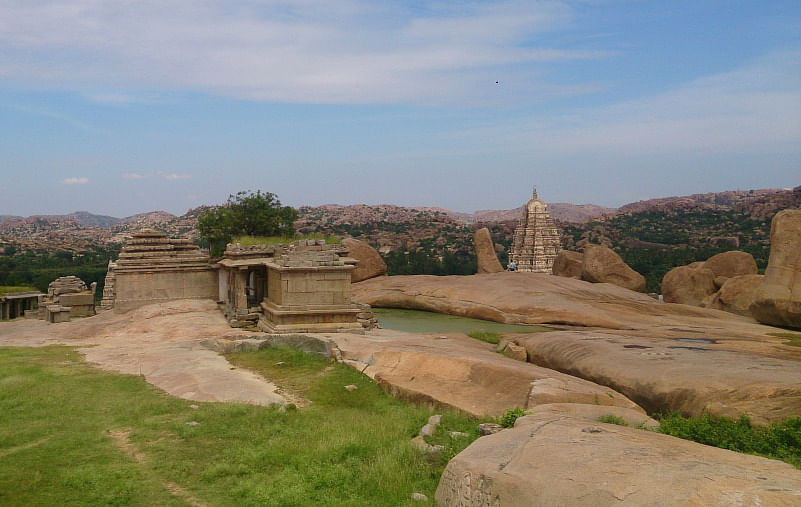 Hampi's ruins. (Photo Courtesy: Sonal Kwatra Paladini/Drifter Planet)