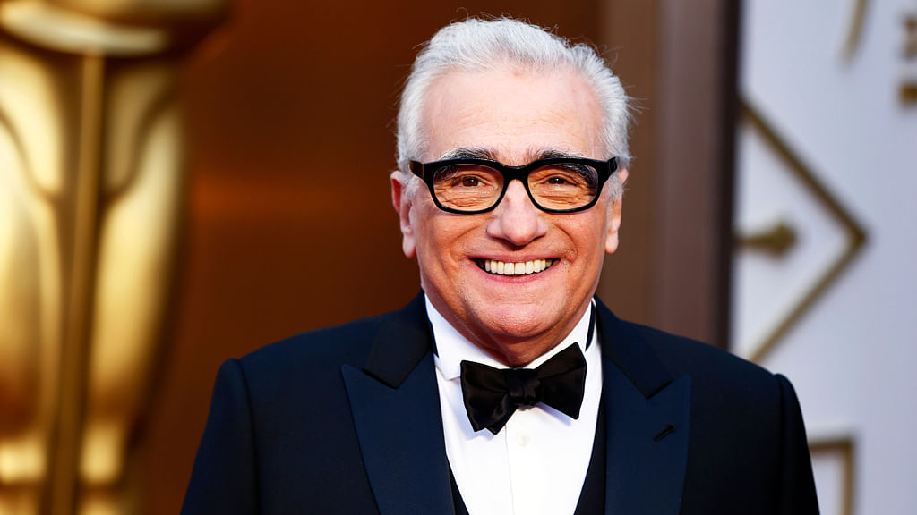 Martin Scorsese, best director nominee for his film <i>The Wolf of Wall Street</i>, arrives at the 86th Academy Awards in Hollywood. (Photo: Reuters)