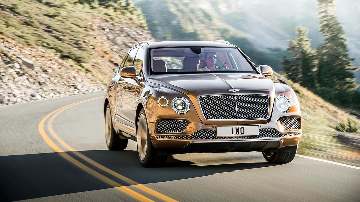 Now you can go off-roading in a Bentley. (Photo: Bentley)