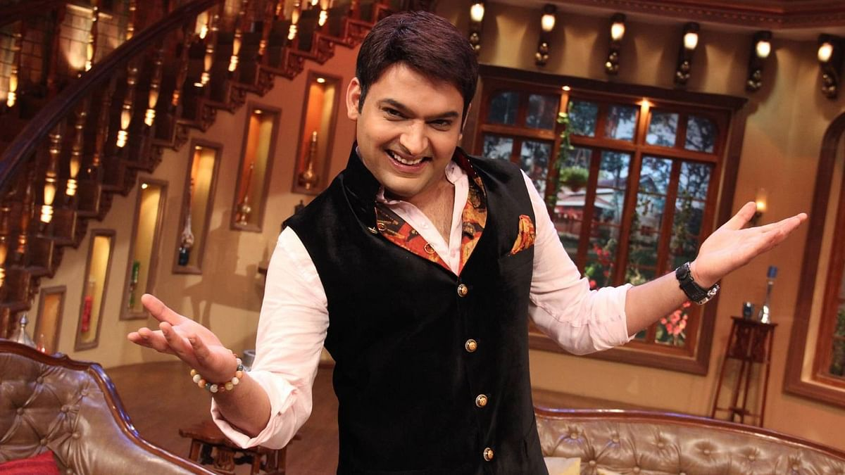 Comedian Kapil Sharma is shooting for his next film <i>Firangi</i>.