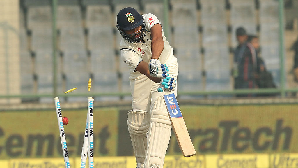 Rohit Sharma had another dismal season in Tests. (Photo: Ron Gaunt / BCCI / SPORTZPICS)
