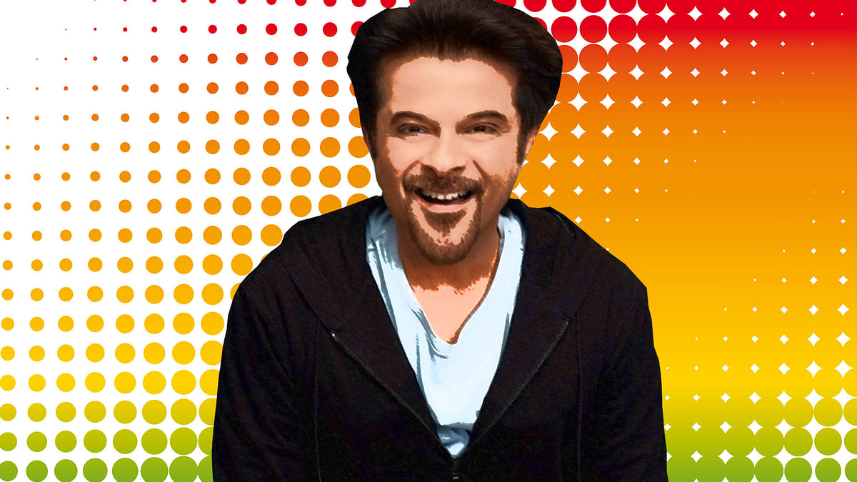 Anil Kapoor turns 59 today. (Photo illustration: <b>The Quint</b>)