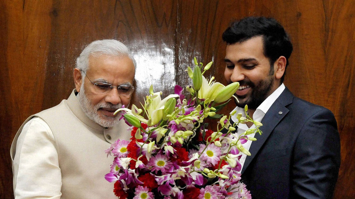 Prime Minister Narendra Modi on Sunday once again praised the Indian men's cricket team.