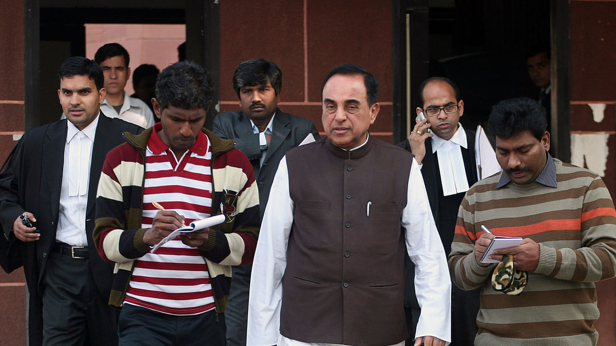 Though it's come a bit late, we finally have the defence in the National Herald case being laid out. (Photo: Reuters)