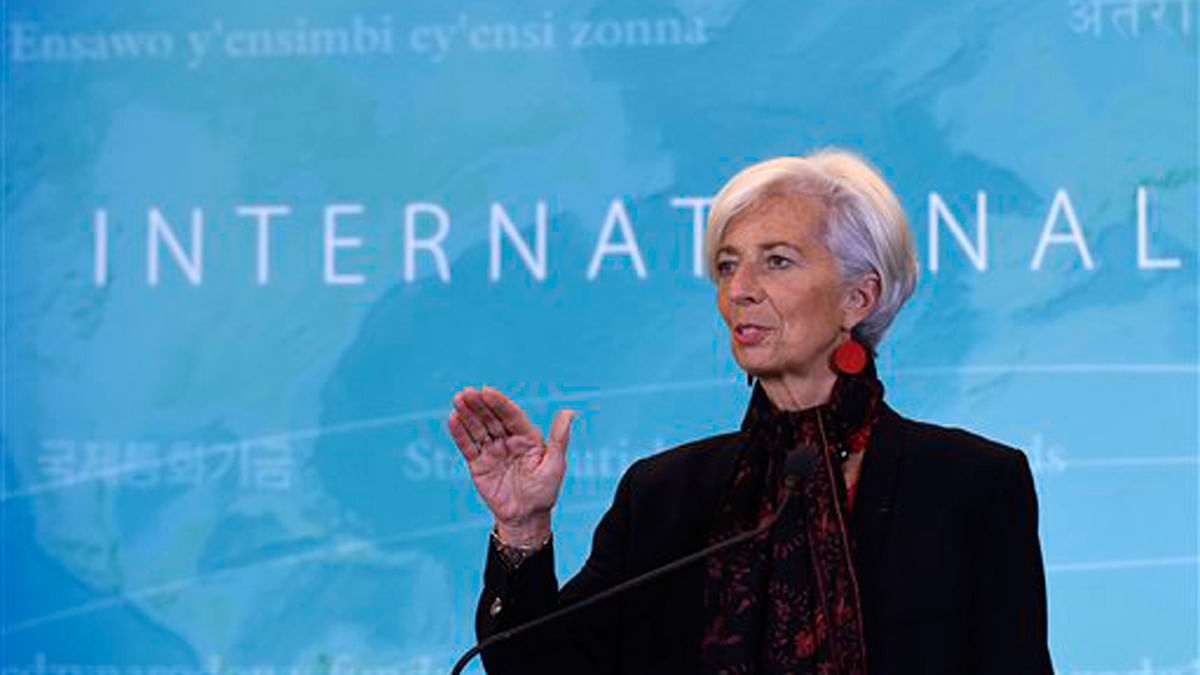 Indian Economy Is on a 'Very Solid Track': IMF Chief Lagarde