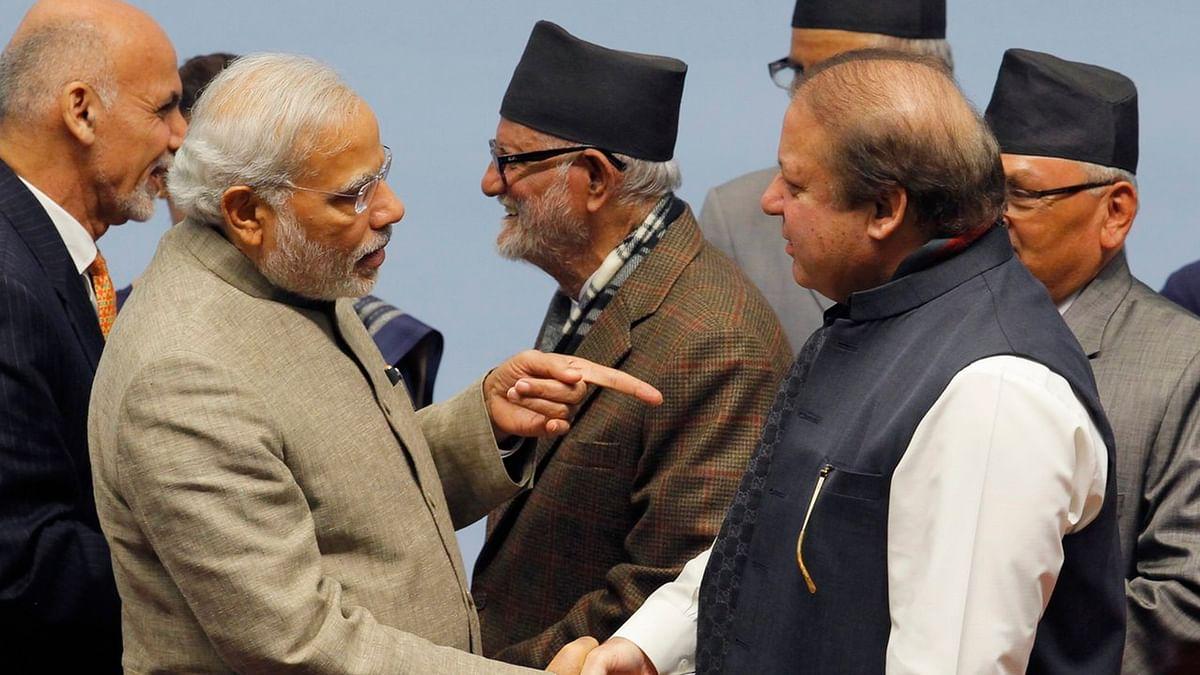 Prime Minister Narendra Modi and Pakistan Prime Minister Nawaz Sharif.  (Photo: Reuters)