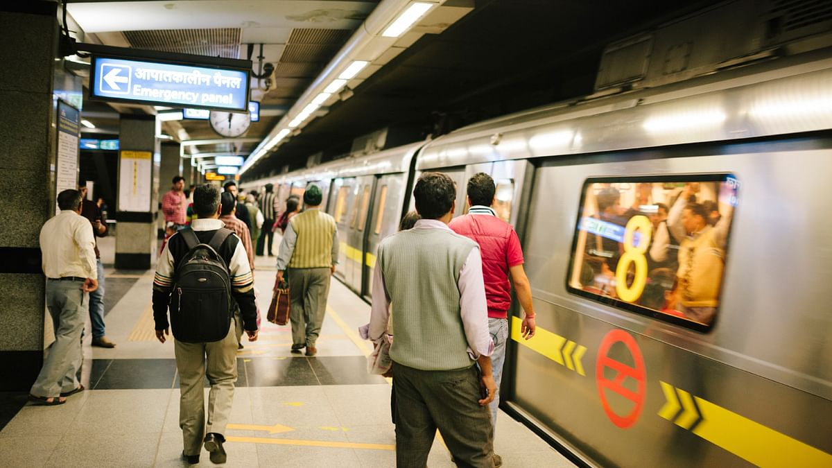 Yellow line of the Delhi metro. Image used for representational purpose.