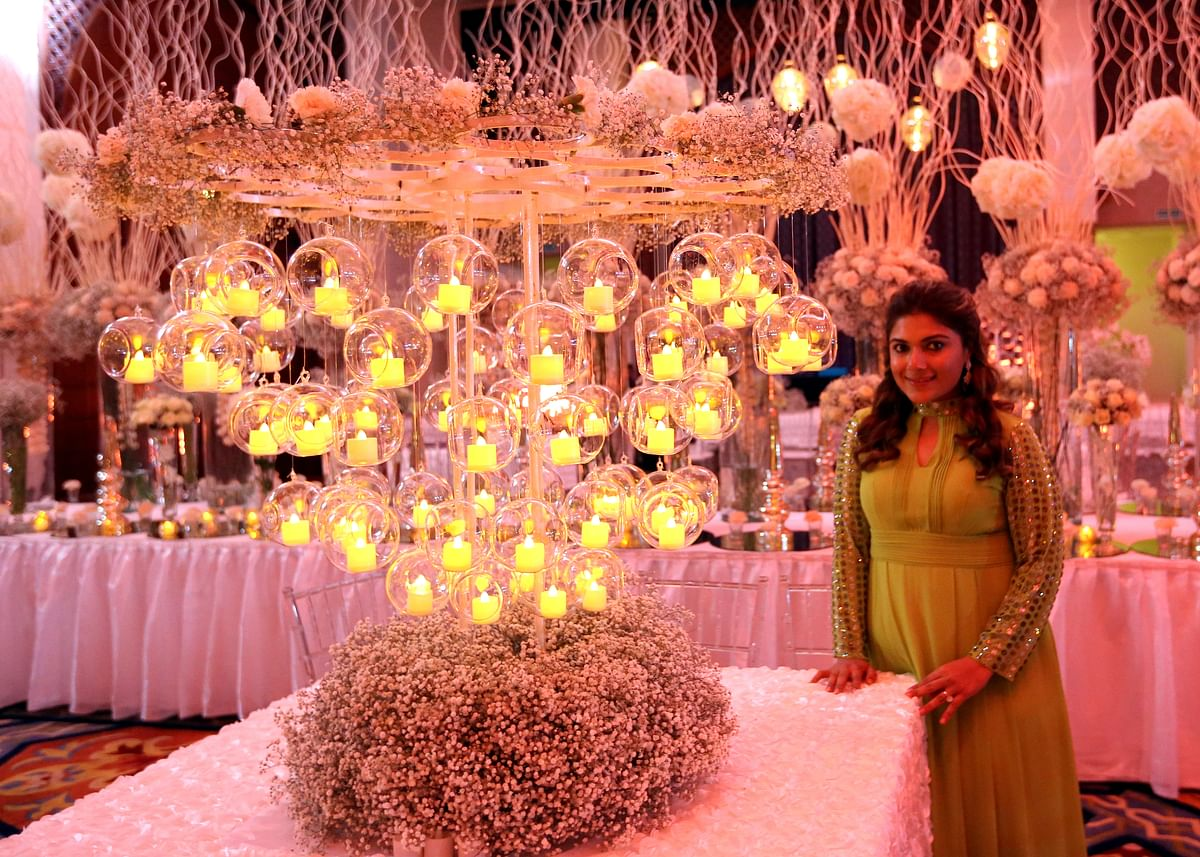 The recent wedding had a pastel theme fusing both new and traditional designs. (Photo Courtesy: Mosaic Events)