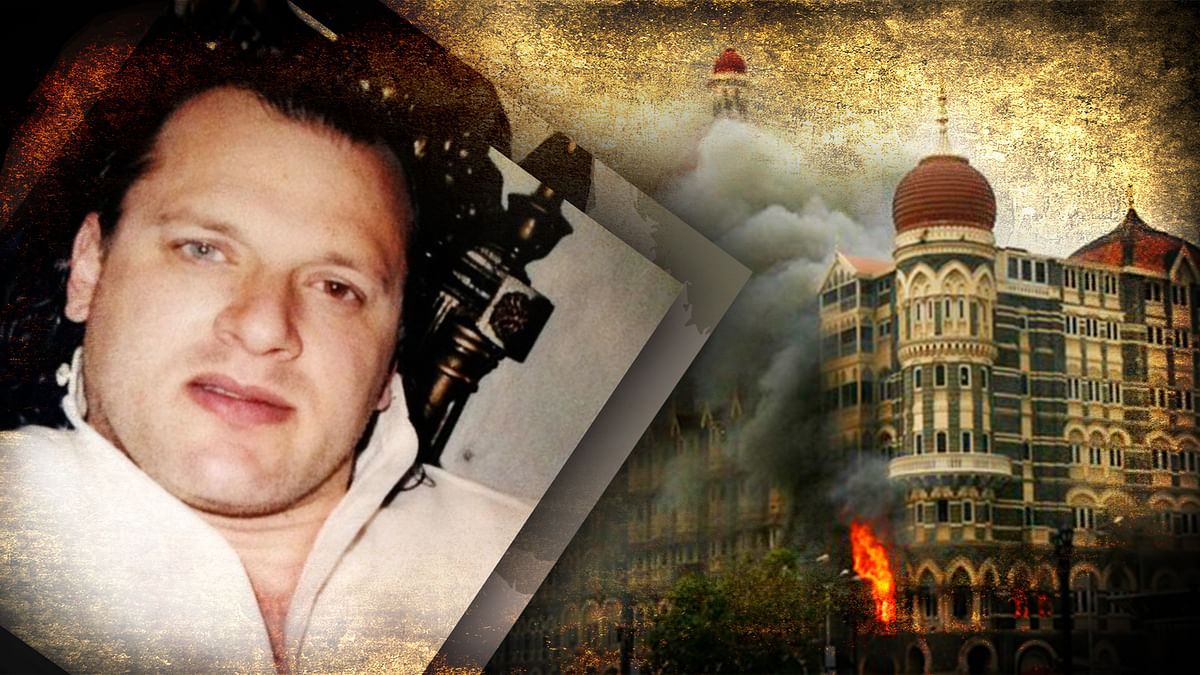 David Headley, accused-turned-approver in the 26/11 Mumbai terror attacks is deposing before a Mumbai court. (Photo: <b>The Quint</b>)