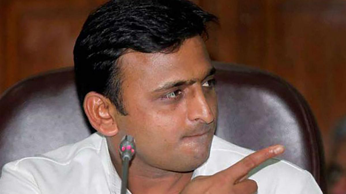 Uttar Pradesh CM Akhilesh Yadav. (Photo: PTI)