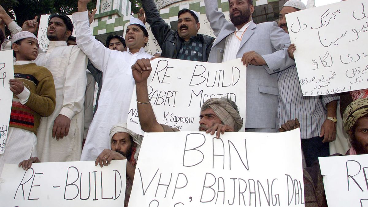 Pressure from the Babri Masjid Action Committee and fears of a communal backlash forced Prime Minister PV Narasimha Rao to intervene and seek a suspension of the kar seva in July 1992. (Photo: Reuters)