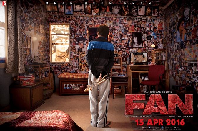 Poster of SRK's <i>Fan</i>