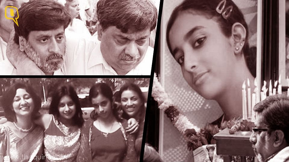 Clockwise from top left: Rajesh and Dinesh Talwar; Rajesh at the memorial service for Aarushi; the Talwars in happier times