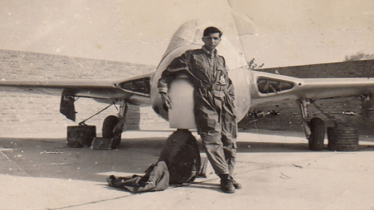 Air Marshal (Retd) Denzil Keelor in his prime during the 1965 Indo-Pak war.
