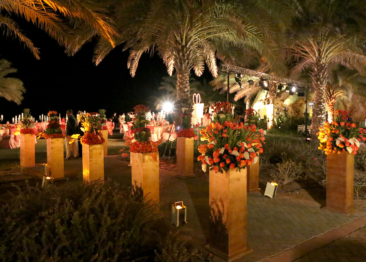 Middle Eastern cities like Muscat, Dubai and Abu Dhabi are scoring on the wedding destination card. (Photo Courtesy: Mosaic Events)