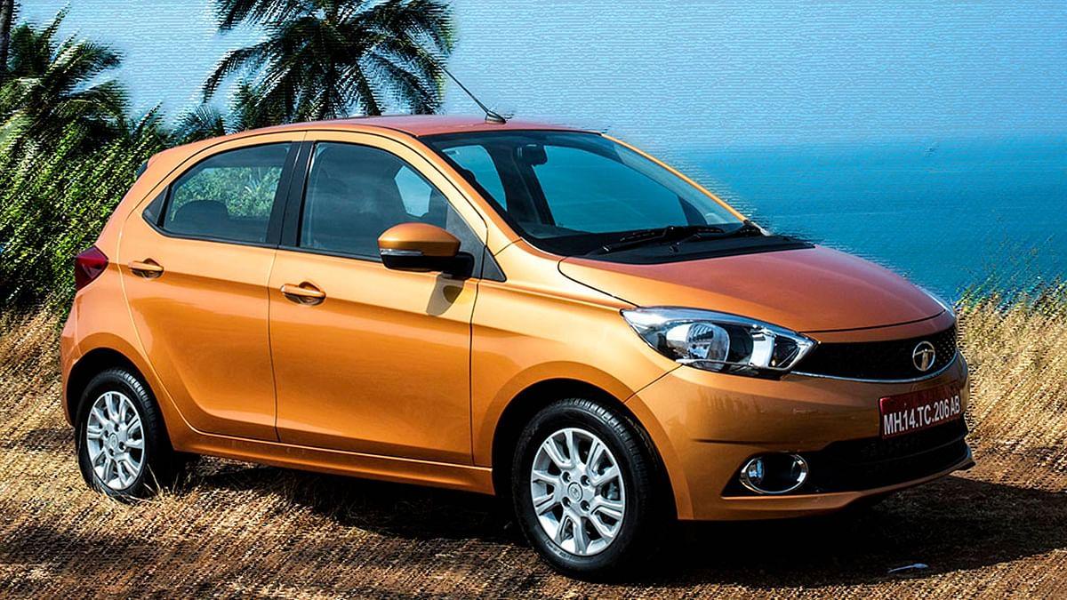 "Tata Tiago. (Photo Courtesy: <a href=""https://www.motorscribes.com/"">Motorscribes</a>)"