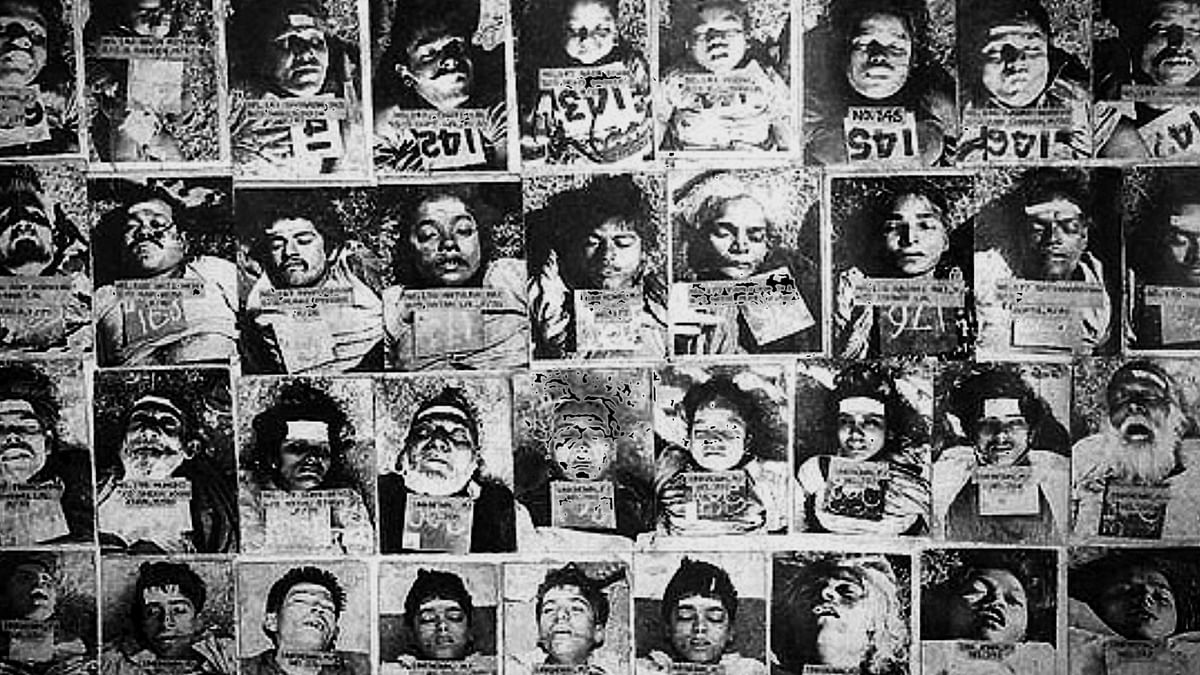 The Bhopal gas disaster took place on the intervening night of 2-3 December 1984.