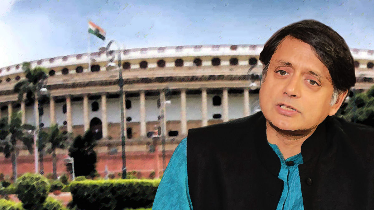 'Govt Schemes Should Be Named Shut-Up, Shutdown India': Tharoor