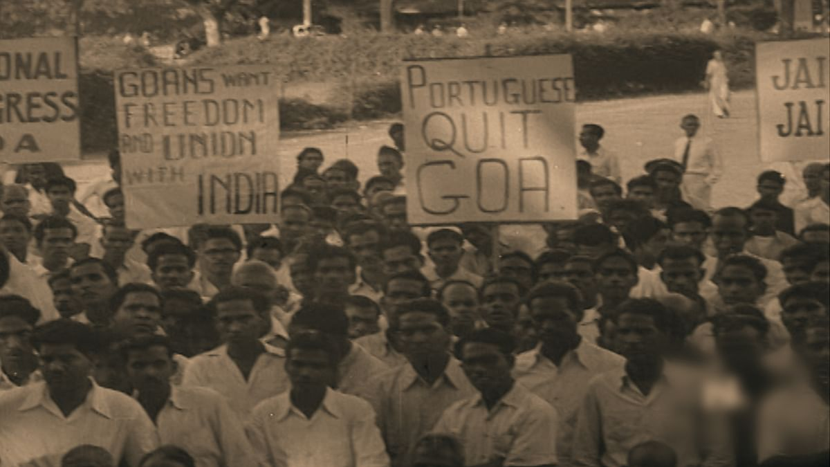 32 people were shot dead and over 225 injured in the 1955 Goa Satyagraha. (Photo: The Quint)
