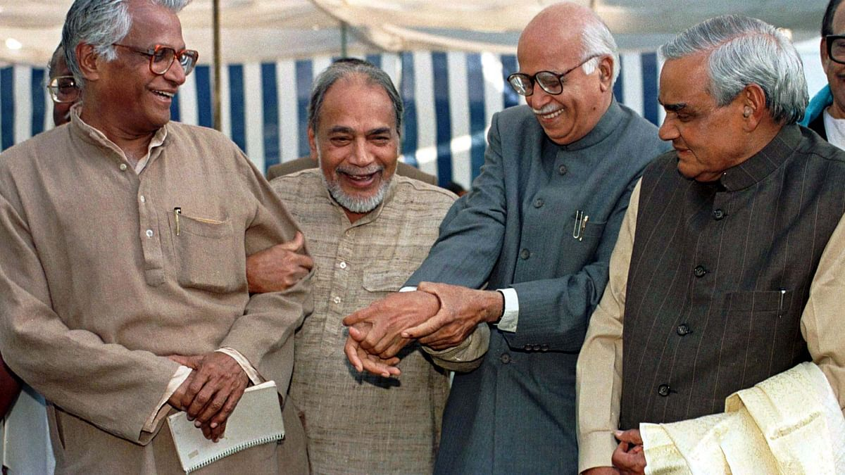 BJP had secured 85 seats in the 1989 General Election and were finally in a position to influence national politics. (Photo: Reuters)