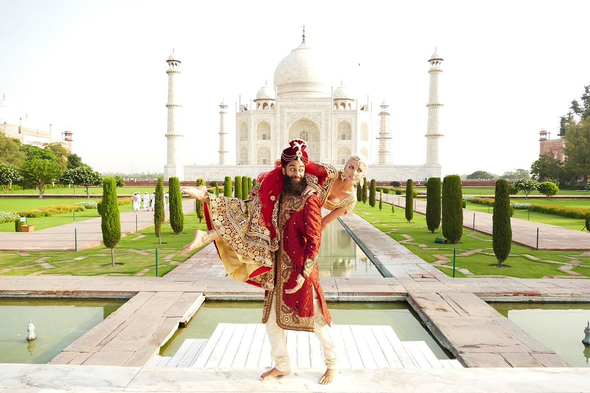 """""""It's important to travel with a companion in India,"""" feels a female foreign traveller. (Photo Courtesy: Adrienne and Andrew McDermott)"""