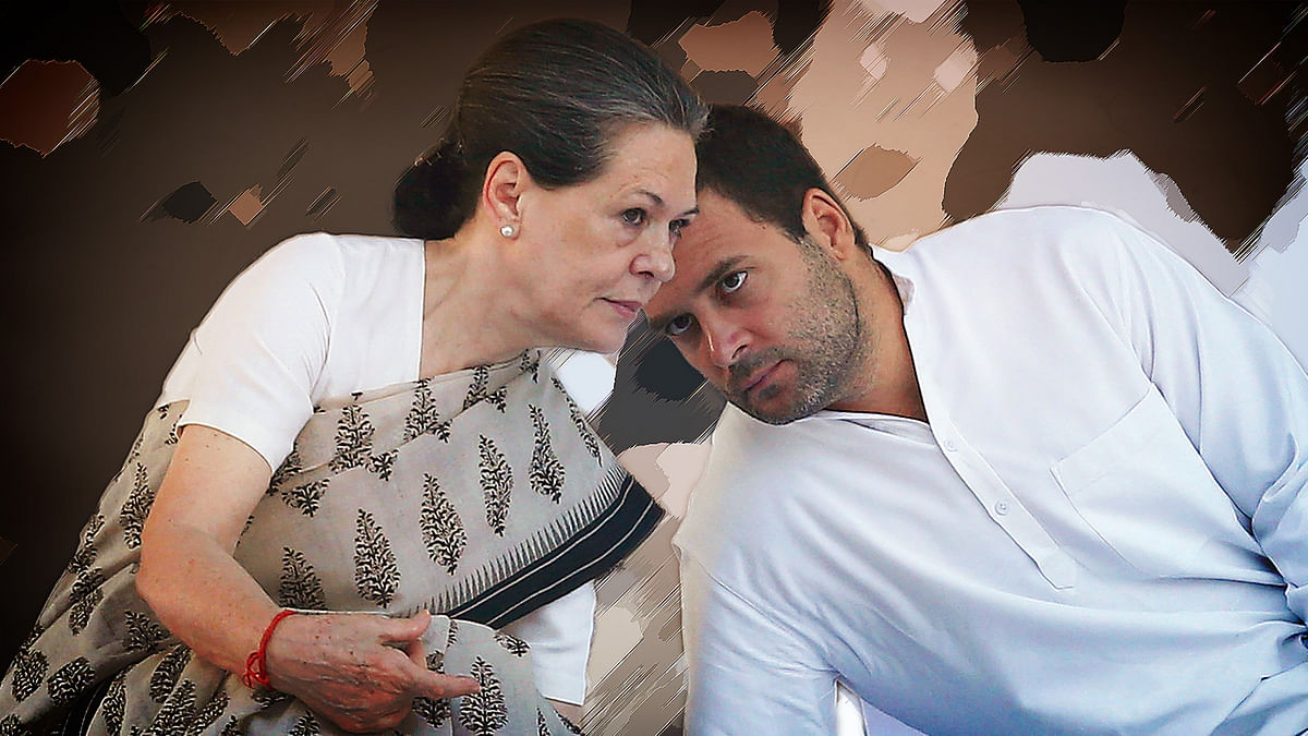 File photo of Sonia Gandhi and Rahul Gandhi.