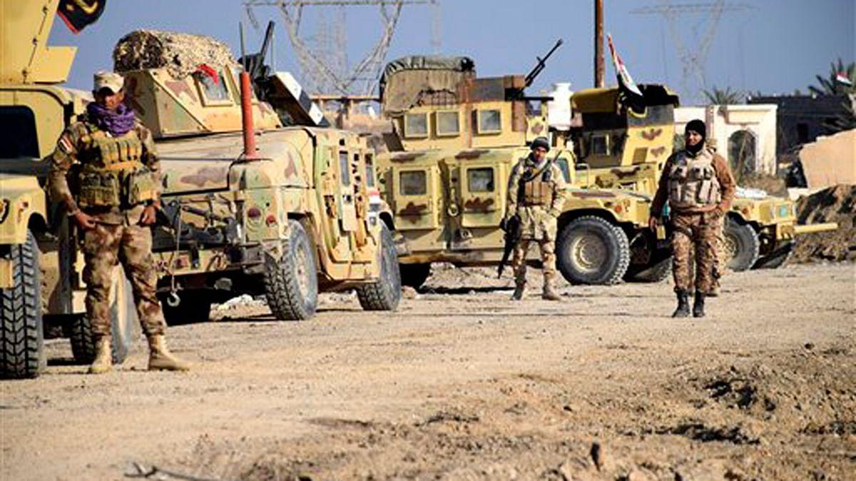Iraqi soldiers during their advance in Ramadi. (Photo: AP)